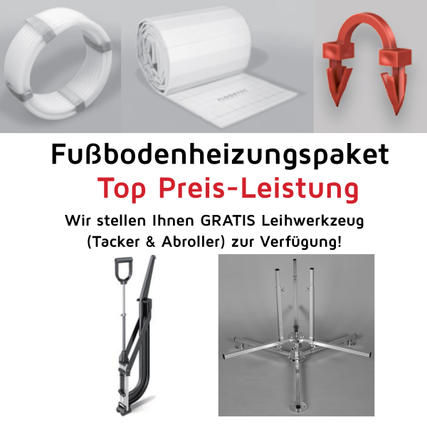 starterpaket fu bodenheizung 100m vogel noot g nstig kaufen bei badshop austria online shop. Black Bedroom Furniture Sets. Home Design Ideas